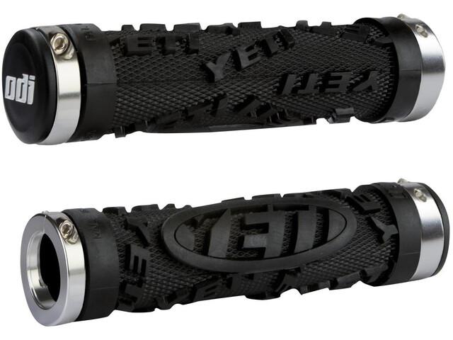 ODI Yeti Hardcore Grips Bonus Pack black